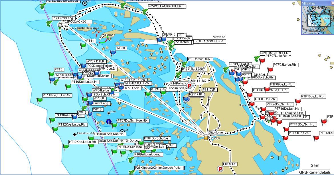 Navigationskarte