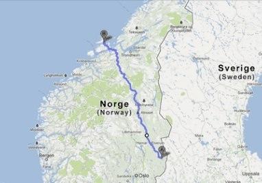 Weg nach Frøya zweiter Teil