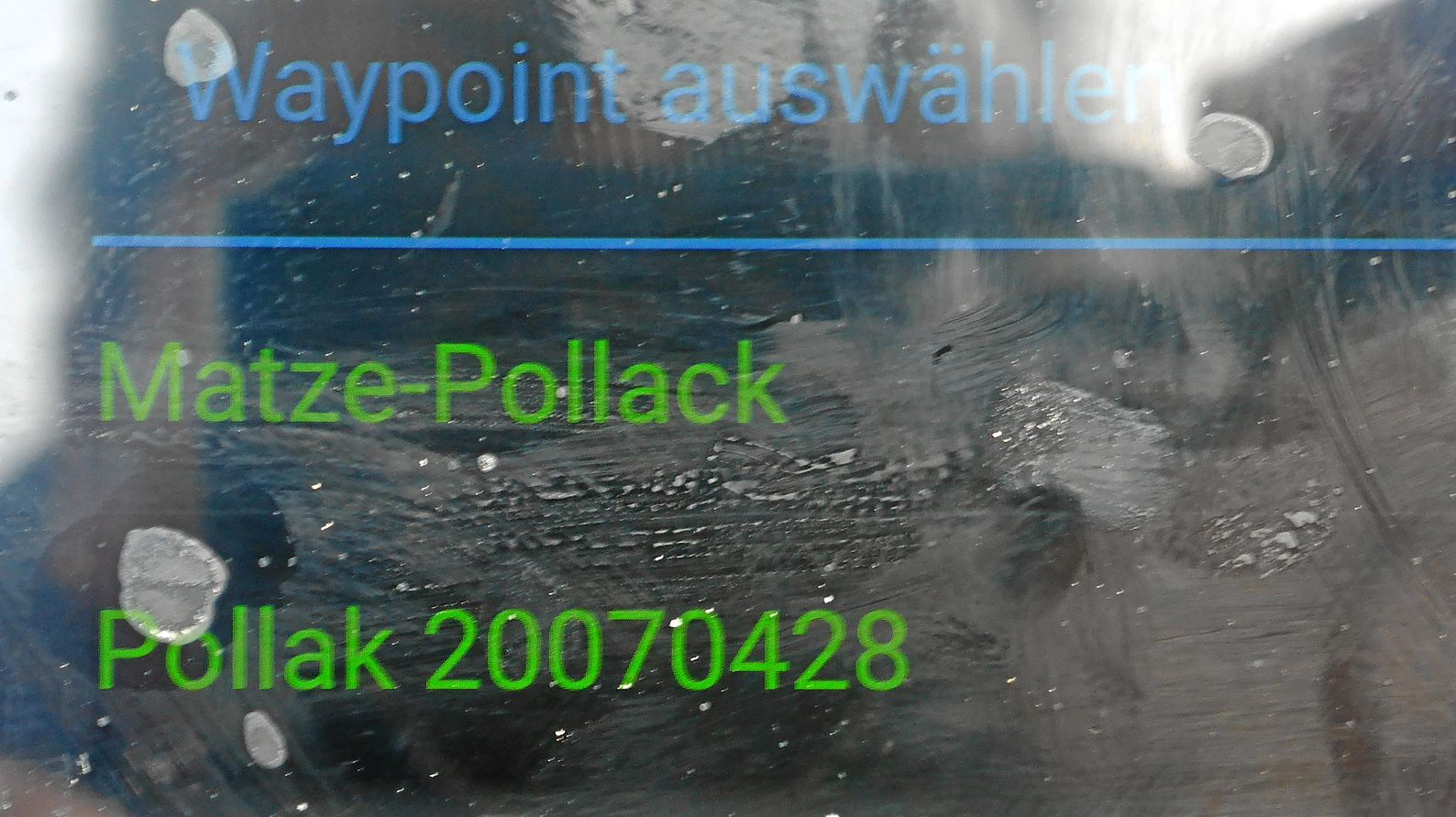 "Waypoint ""Matze-Pollack"""