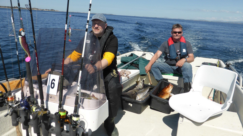 Heimfahrt nach erfolgreichen Fang