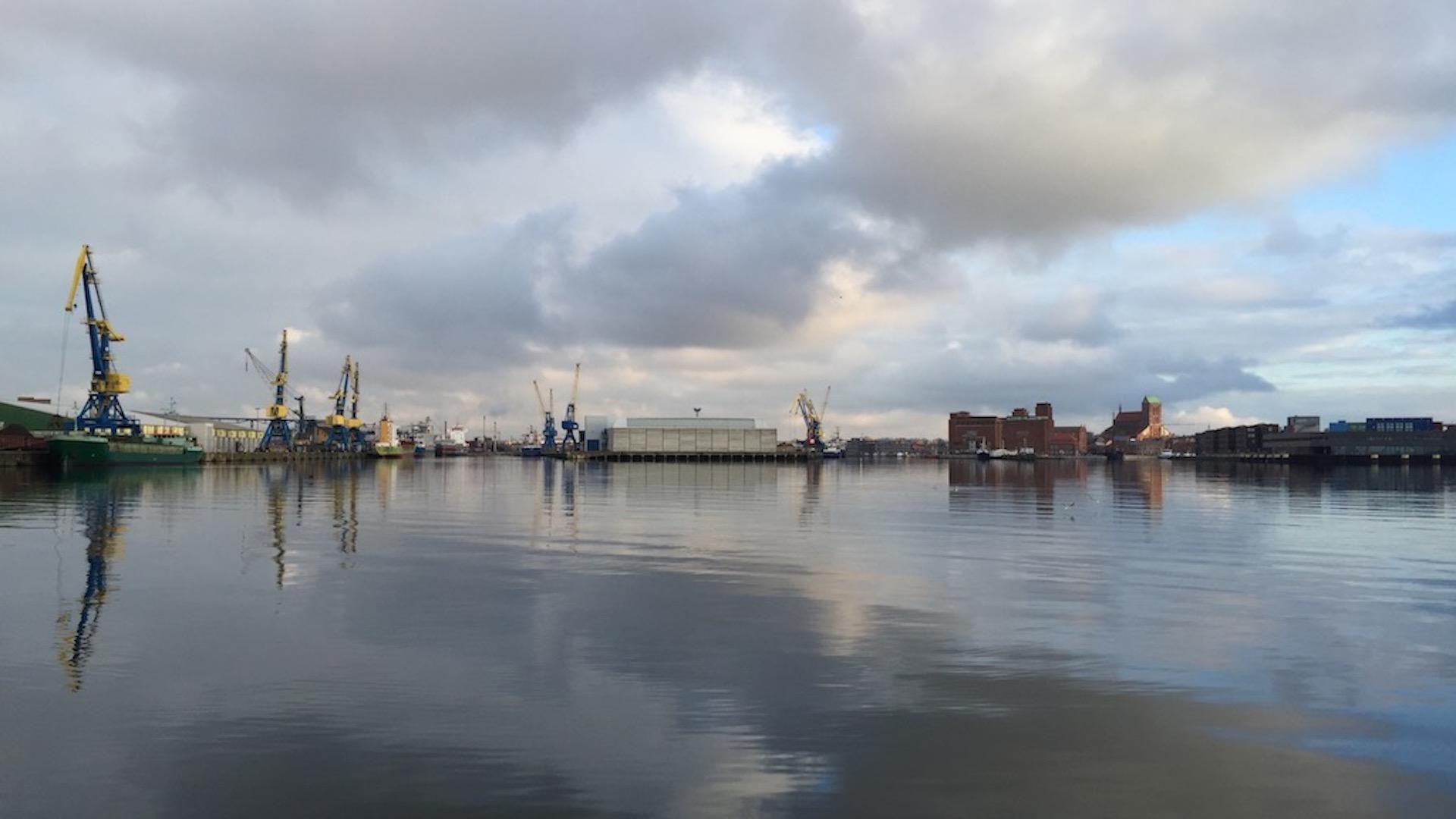 Hafeneinfahrt von Wismar
