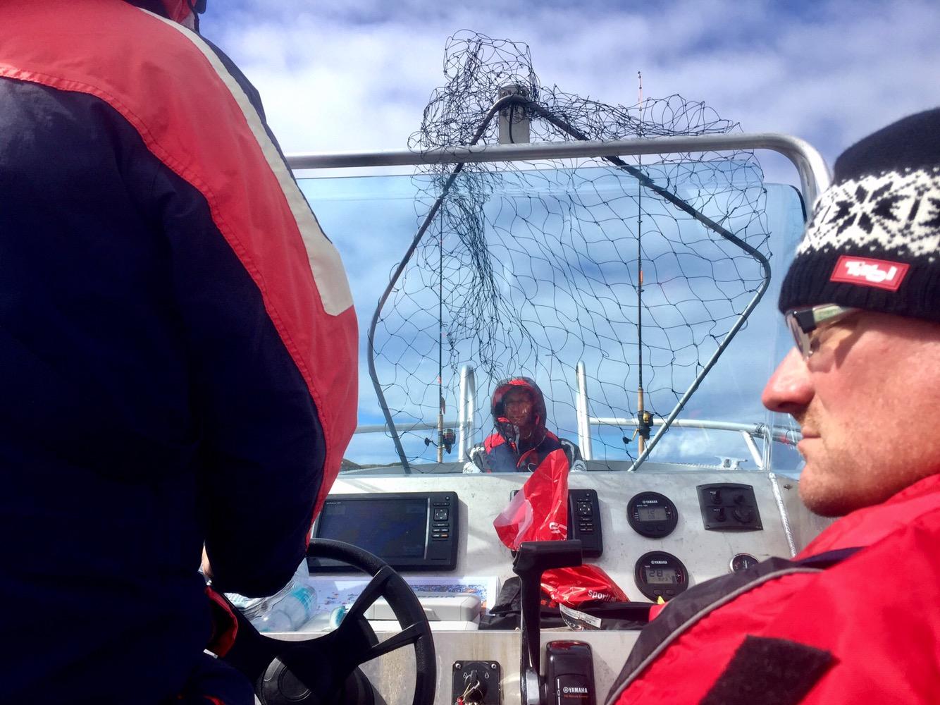 Vorbereitung auf Seehechtangeln