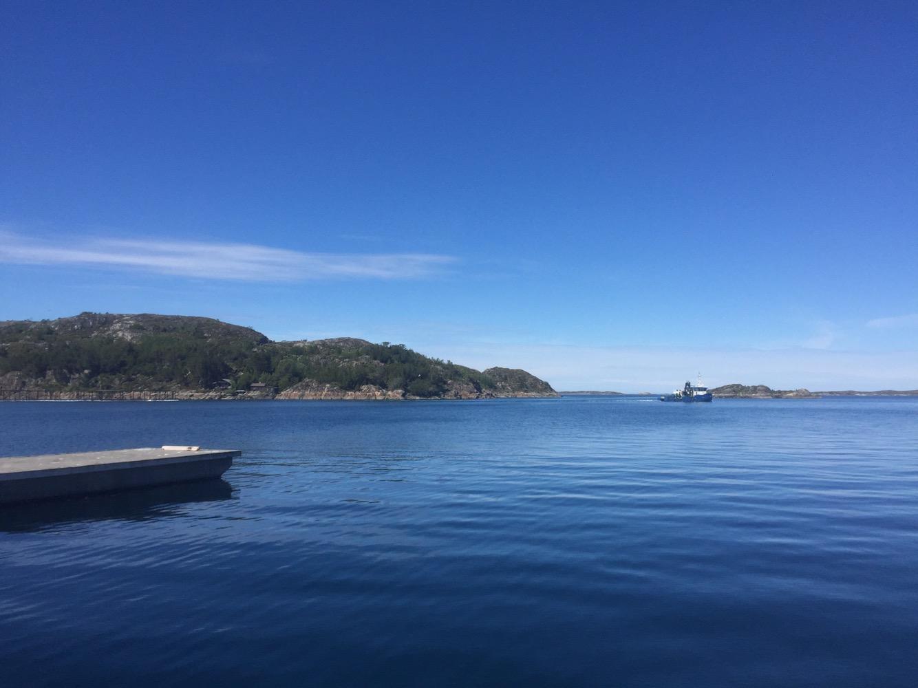 Sommertag in Kvenvær