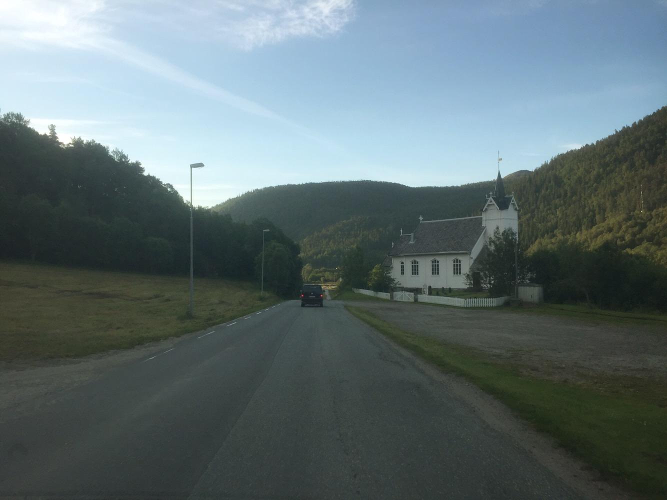 Richtung Oslo morgens um 05:30 Uhr