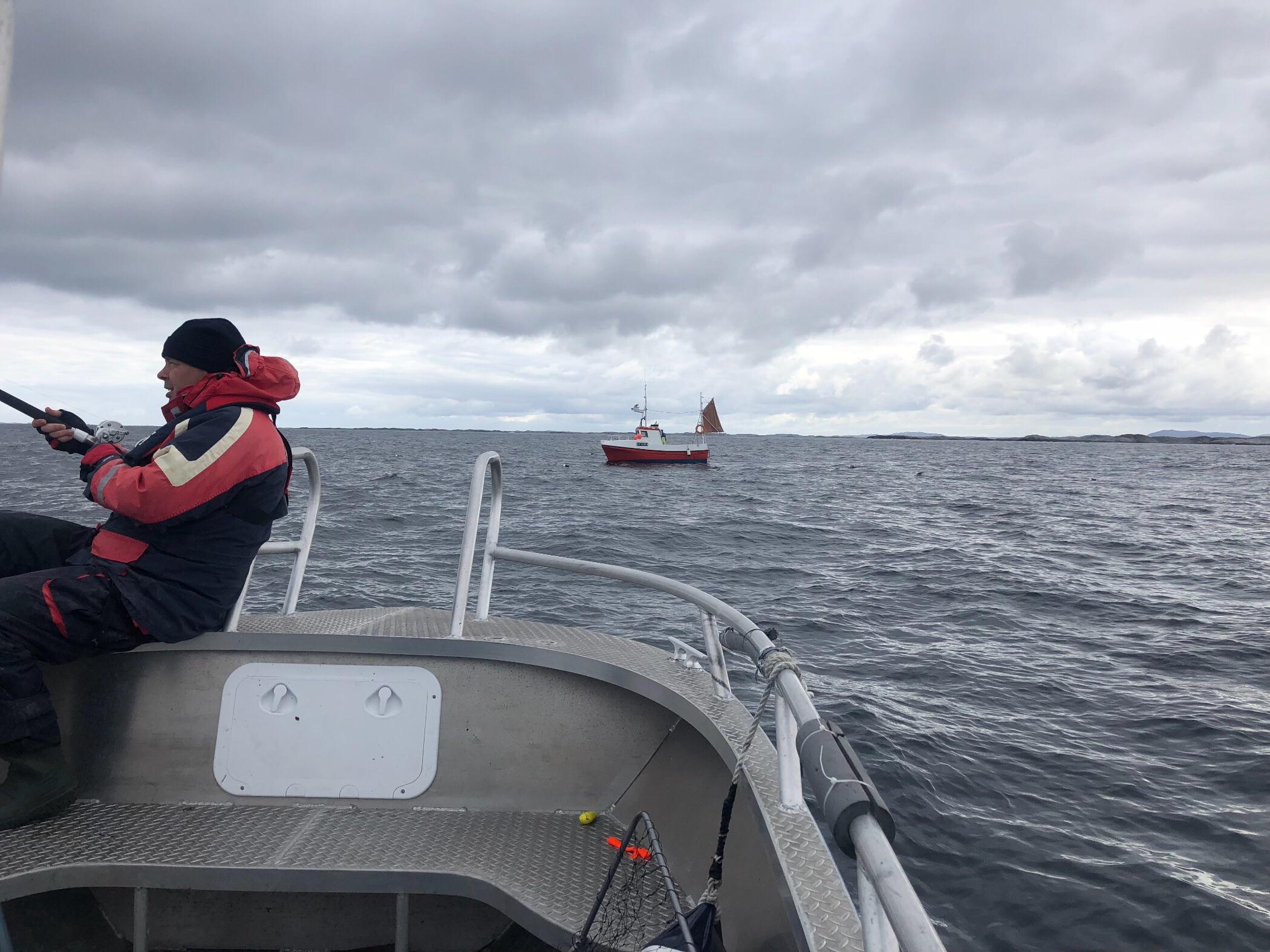 """Die """"Konkurrenz"""" von der professionellen Fischerei"""