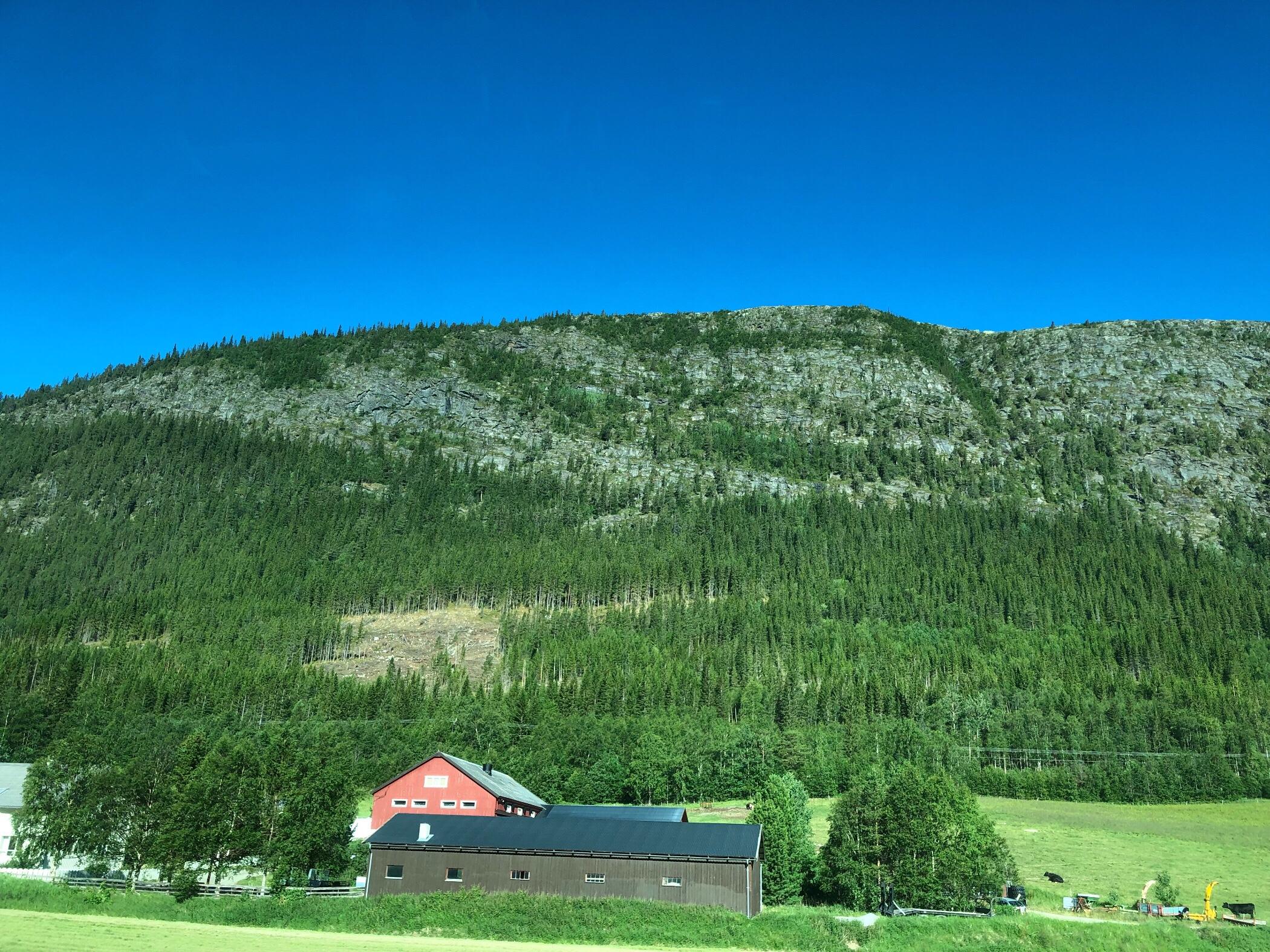 Schöne Landschaft Norwegens